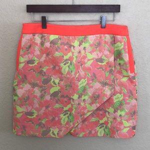 Ted Baker Size 3 Floral Pocket Mini Skirt